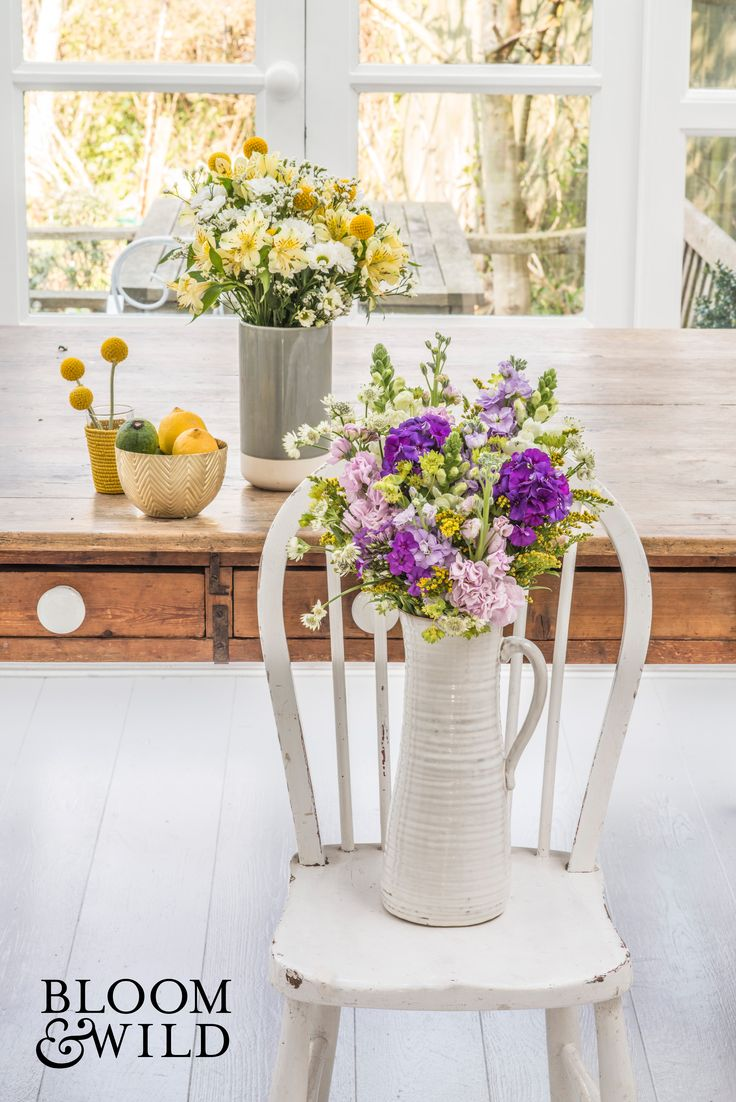 We love little gestures like thanking friends with fresh flowers through the letterbox. Stocks, snapdragons, citrusy craspedia and daisies will surely brighten their home for weeks. Surprise them today with flowers through the post! Bouquets start at £20 and include free next day delivery through the post.