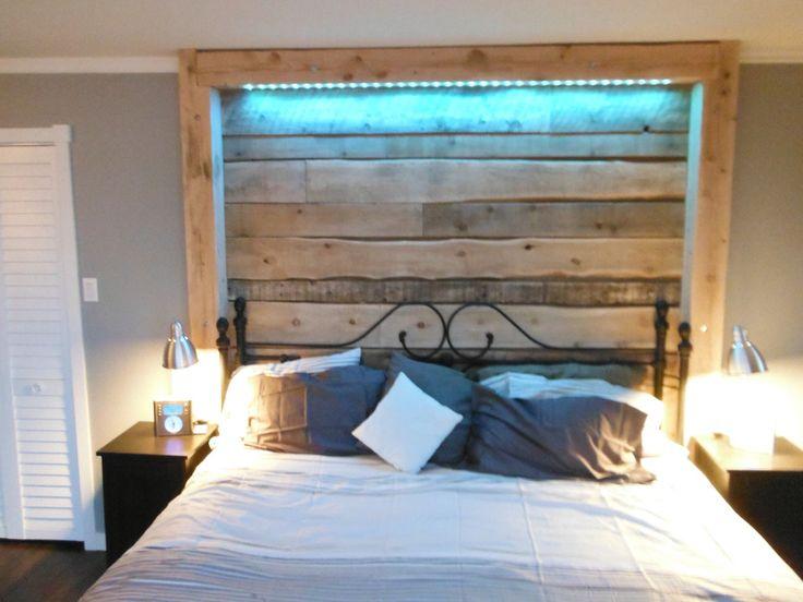 tete de lit lumineuse led tete de lit avec led t te led int gr e groupon shopping et iu x sur. Black Bedroom Furniture Sets. Home Design Ideas