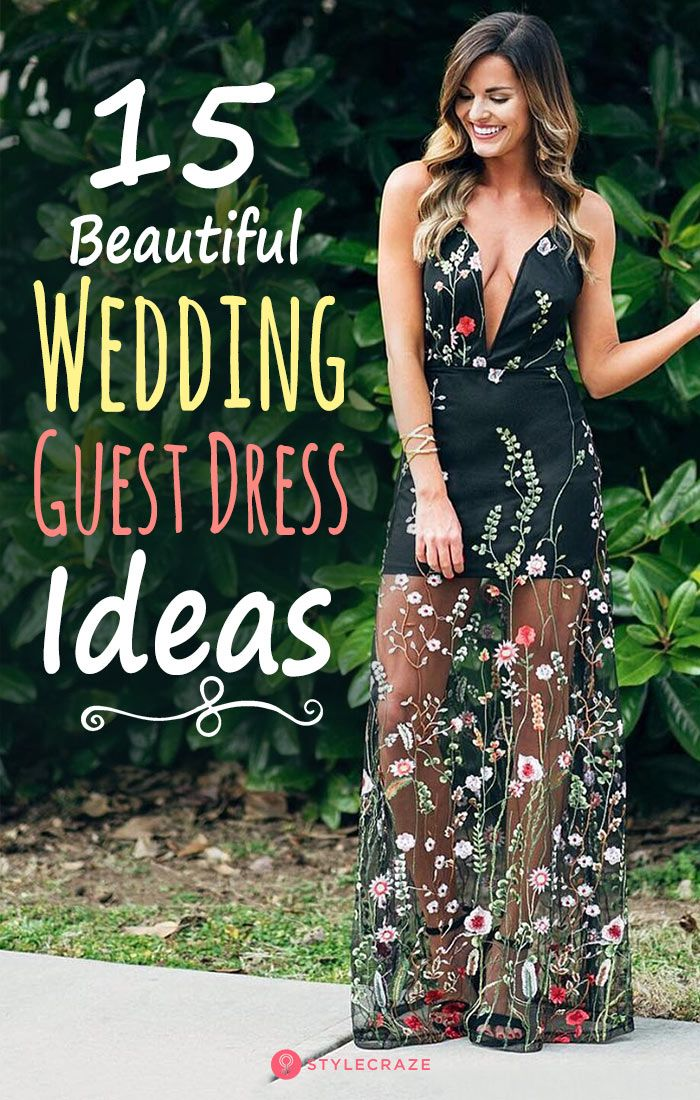 3faabc3ee94 15 Beautiful Wedding Guest Dress Ideas