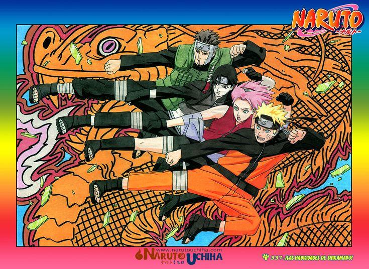 Naruto Manga 337 Español Online HD Descargar Gratis