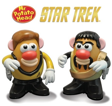 Kirk and Spock Potato Heads. I haven't seen them yet, but they were announced by CBS. Too fun. Mirror Universe Spock there.: Klingon Kors, Potatoes Head, Trek Kirk, Captain Kirk, Stars Trek, Startrek, Head 2 Pack, Kors Stars, Star Trek
