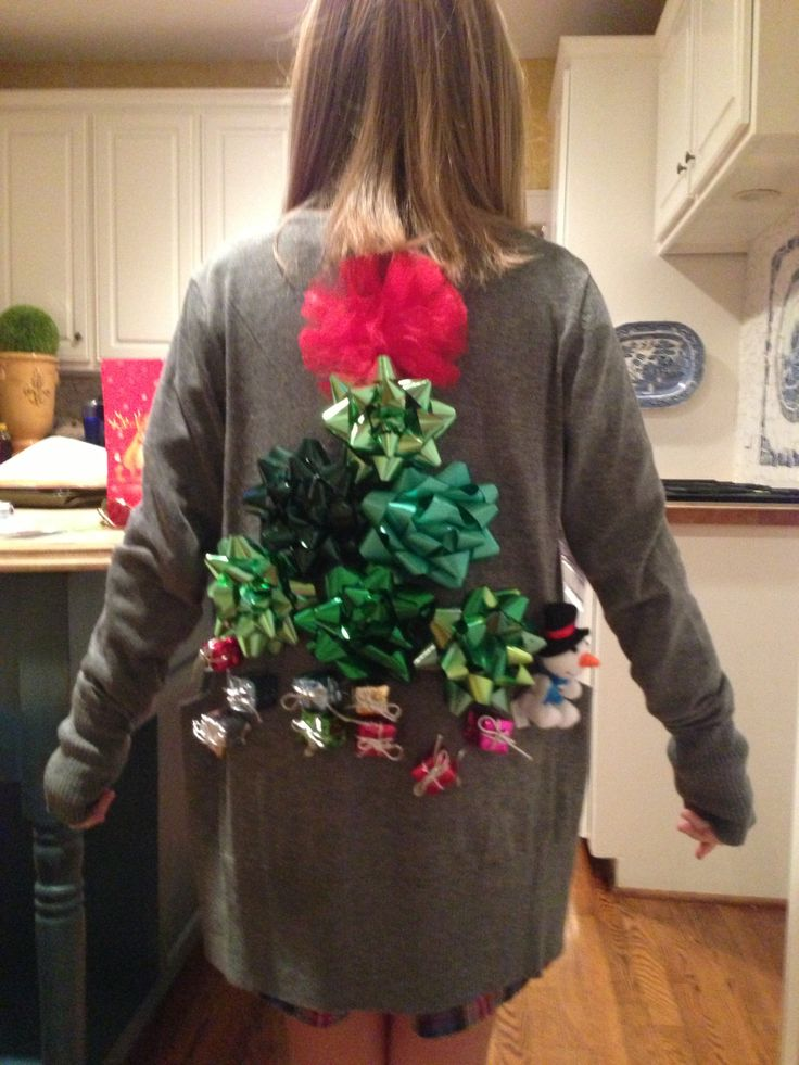 22 best images about ugly christmas sweater on pinterest - Easy Ugly Christmas Sweater Ideas