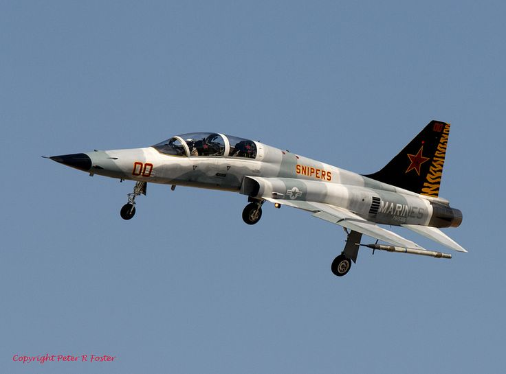 Northrop F-5F 761586 '00' VMFAT-401 30-09-15