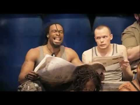 Stomp newspapers, a few of these guys were in the cast I just saw in New York City- love this scene!