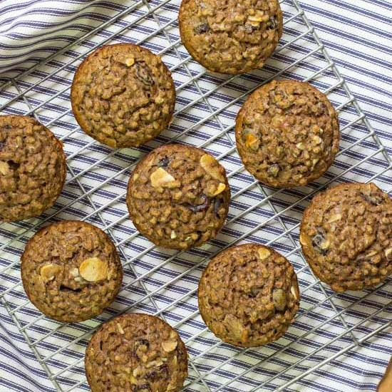 Easy Bran Muffins | Weight Watchers 1 point!
