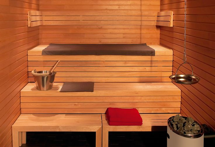 linear sauna design