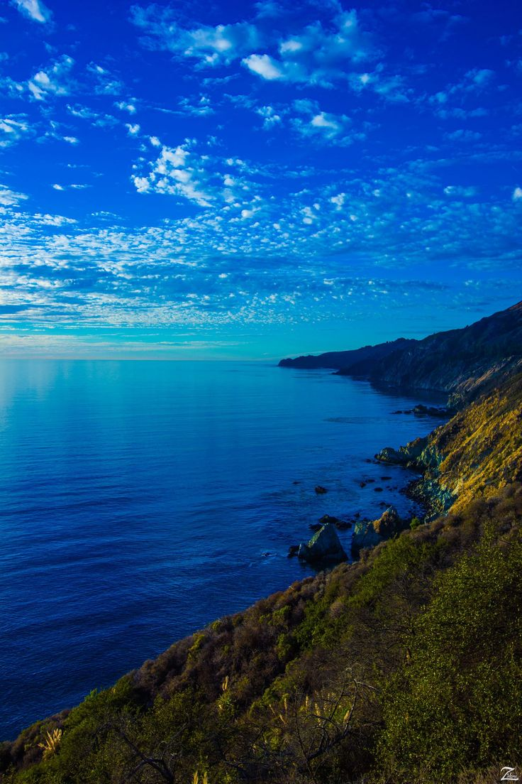 Big Sur California view by air from a tiny plane skypilot at steemit posts to show us places we can't get to ourselves