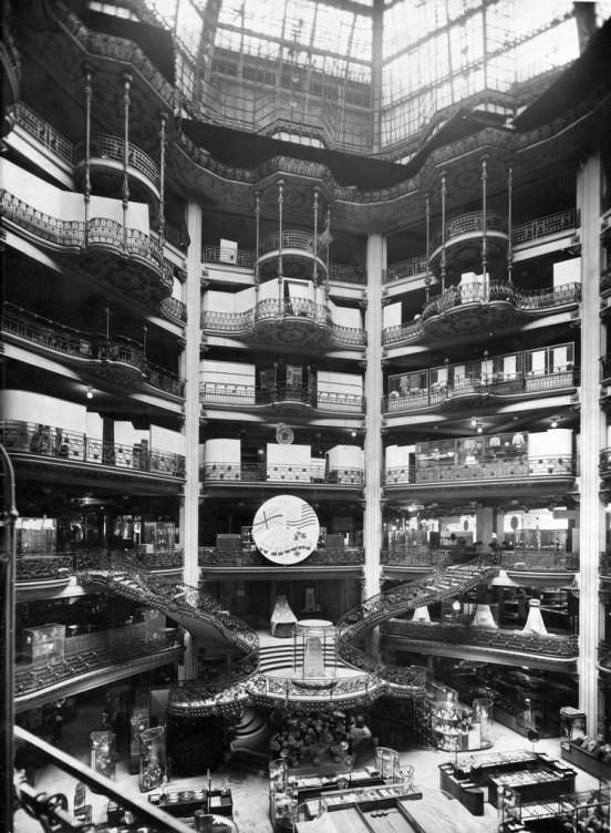Inside the Printemps department store-Paris 1920s