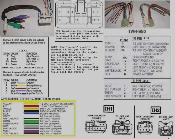 [ANLQ_8698]  Pioneer Car Audio Wiring Diagram and Alpine Wiring Harness Color Code -  Getting Started Of Wiring in 2020 | Pioneer car audio, Car audio, Sony car  stereo | Pioneer Car Stereo Wiring Harness Rca |  | Pinterest