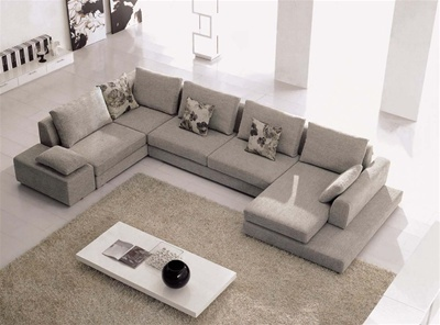 Cruscon Living Room Sectional Sofa | fabric furniture sofas sectionals