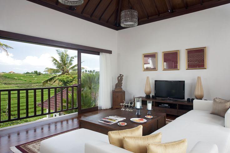 Lounge area of 3 bedroom villa at Canggu Terrace Bali