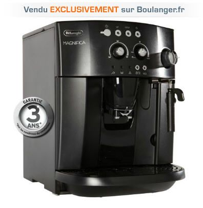 Expresso broyeur DELONGHI ESAM 4000.B EX1 prix promo Boulanger 285.60 € TTC
