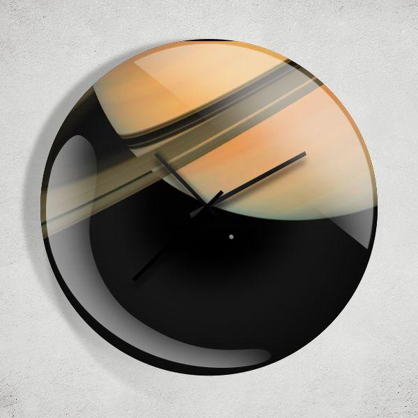 Saturn Evren Uzay Duvar Saati Zet.com'da 49.90 TL