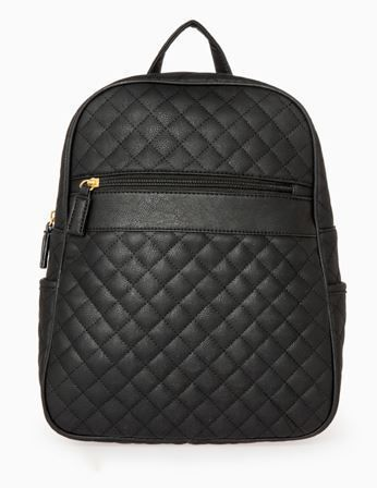 Quilted Backpack by Daily Look