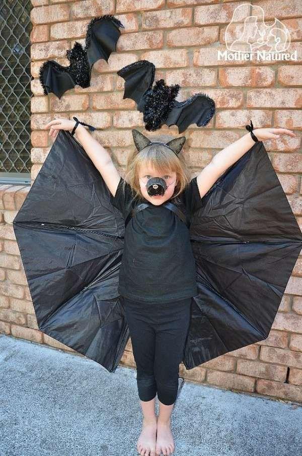 Des idées de récupération d'un vieux parapluie   Deguisement halloween maison, Déguisement ...