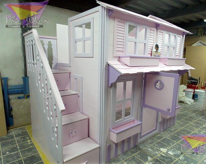 1000 images about muebles para ninos on pinterest for Literas infantiles para ninas