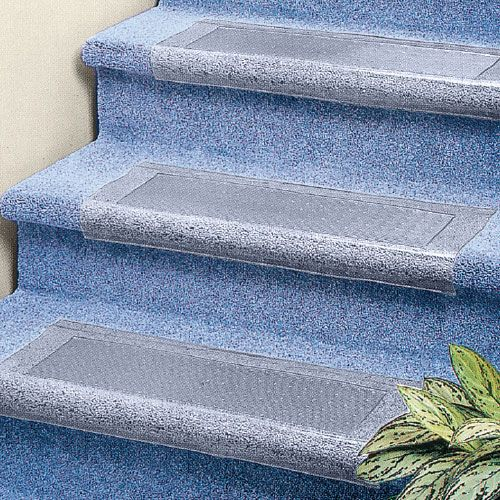 Donu0027t Hide Your Carpet, Protect It With These Clear Treads.  Multi Directional Teeth Keep This In Place.