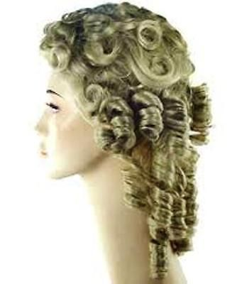 SOUTHERN BELLE WIG CIVIL WAR GONE WITH THE WIND SCARLETT COSTUME WIG BLOND BROWN