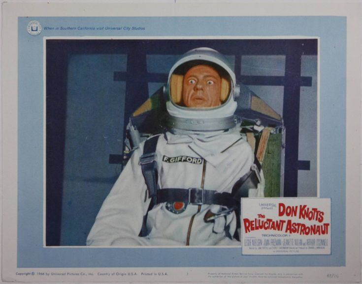 don knotts reluctant astronaut - photo #12