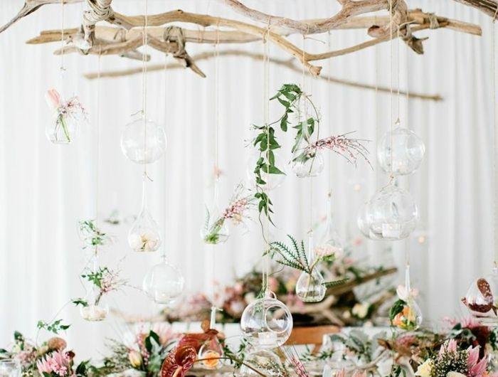 Les 25 meilleures id es de la cat gorie mariage en bois for Realisation objet en bois flotte