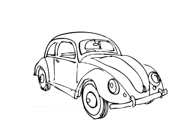 Beetle Car Coloring Pages Cars Coloring Pages Beetle Car Coloring Pages