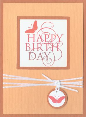 Stamp-it Australia: 3793E Birthday Curl, 3795B Solid Butterfly - Card by Lexie