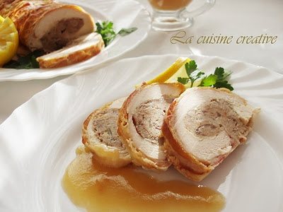Svecano rolovano pile/Rolled chicken