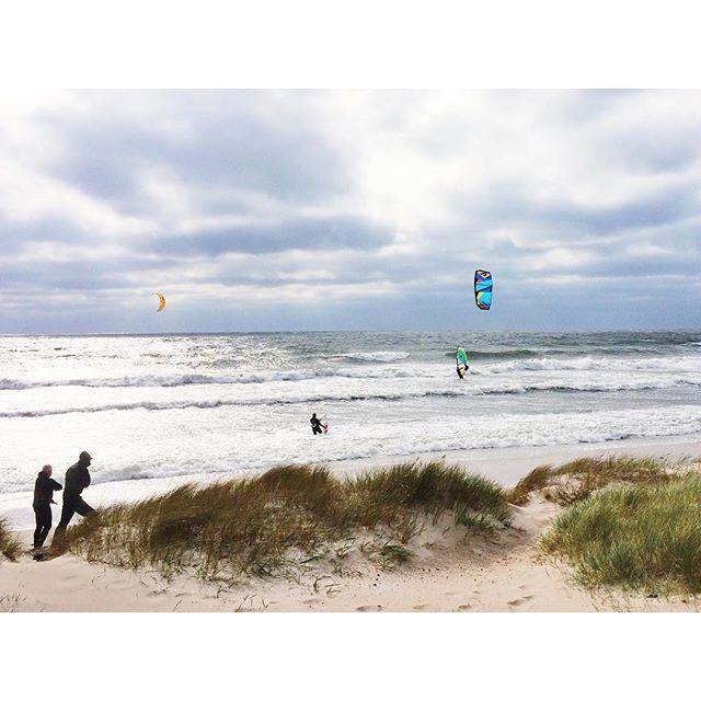 """Die Bedingungen für Wassersport in Skåne sind derzeit überdurchschnittlich gut. Genug Wind für die Windsurfer und Kitesurfer, aber auch ordentlich Wellen für die Wellenreiter. Skåne ist an drei Seiten von Wasser umgeben, über 400 km Küstenlänge laden zu unterschiedlichsten Wasseraktivitäten ein. Die Wassertemperatur beträgt derzeit kuschelige 14,1 Grad und die Wasserqualität hier z.B. bei Mossbystrand wurde mit """"ausgezeichnet"""" zertifiziert. Also, dicken Neoprenanzug eingepackt und ab in den…"""