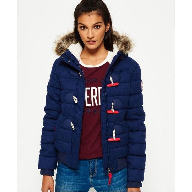 Veste Marl Toggle Puffle Superdry