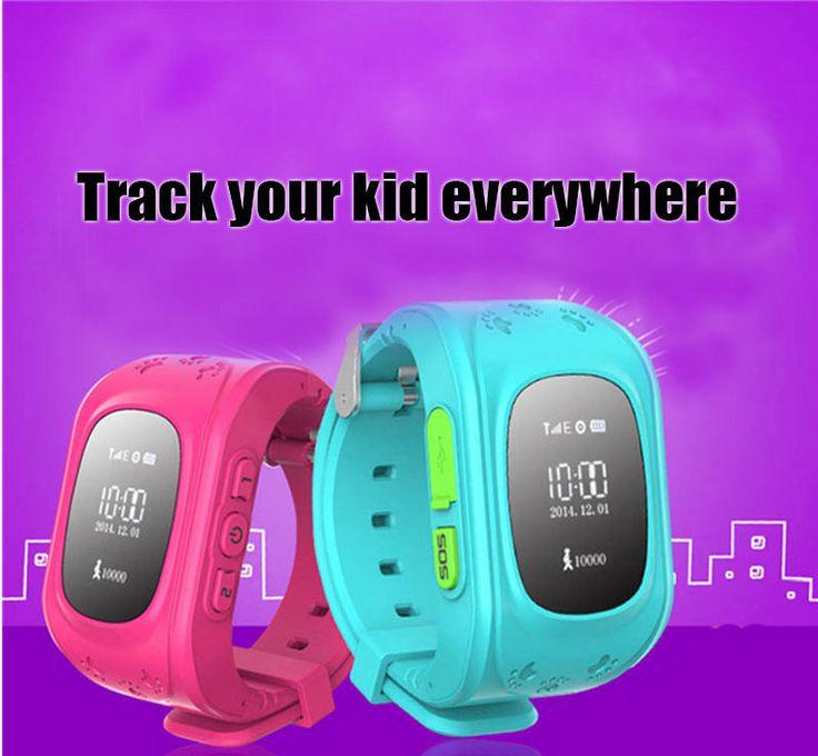 Мини Gps-часы Q50 дети gps tracker SOS Аварийного Анти Потерял Умный Мобильный Телефон App Браслет Браслет