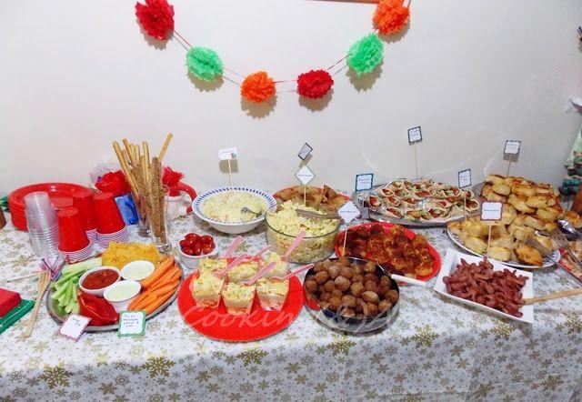 Πάρτυ γενεθλίων - Ιδέες για μπουφέ / Birthday party Ρολό τυρόπιτας