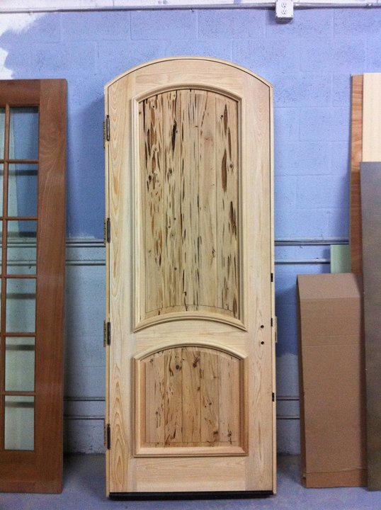 Impact rated pecky cypress door for Impact rated doors