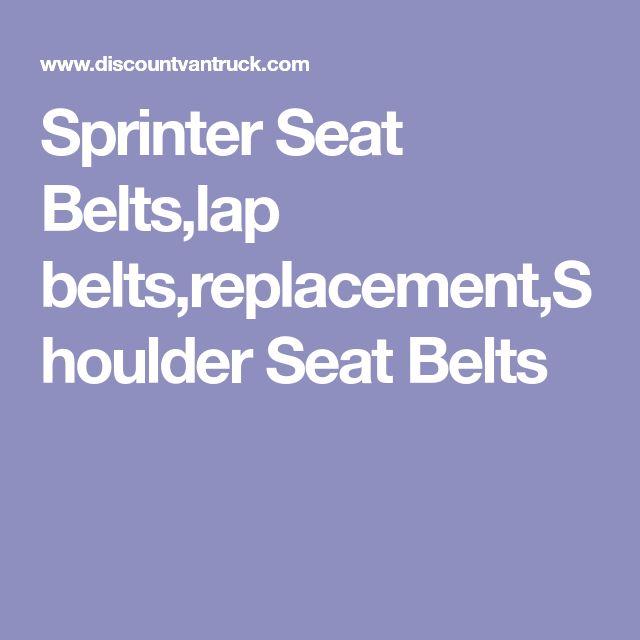Sprinter Seat Belts,lap belts,replacement,Shoulder Seat Belts
