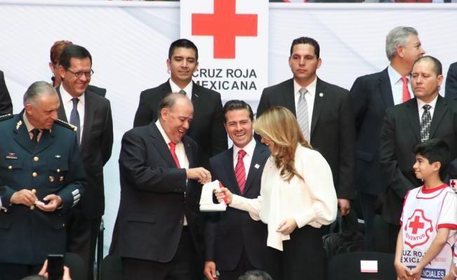 #DESTACADAS:  EPN: apoyar a la Cruz Roja significa contribuir a la construcción de una mejor nación - El Universal
