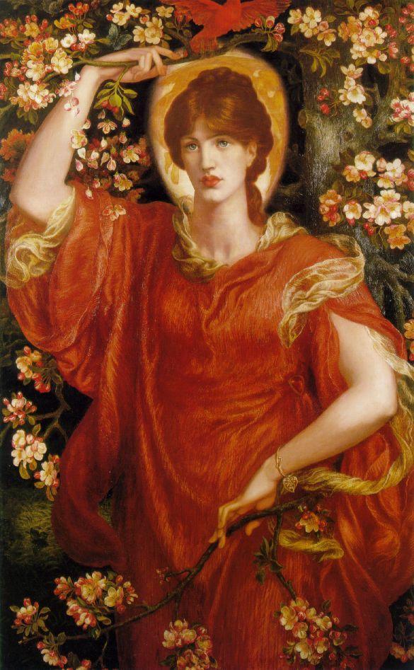 Fiametta, Dante Gabriel Rossetti