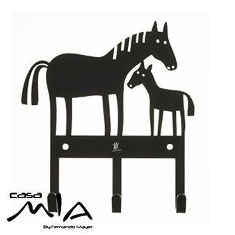 Colgadores caballos Klippan