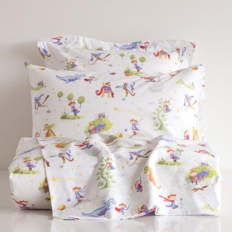 LAKENS EN SLOPEN MET SPROOKJESPRINT - Lakens en Hoezen - Bed | Zara Home België