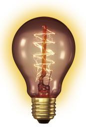 Goldline Lamp 240V 40W E27 A60