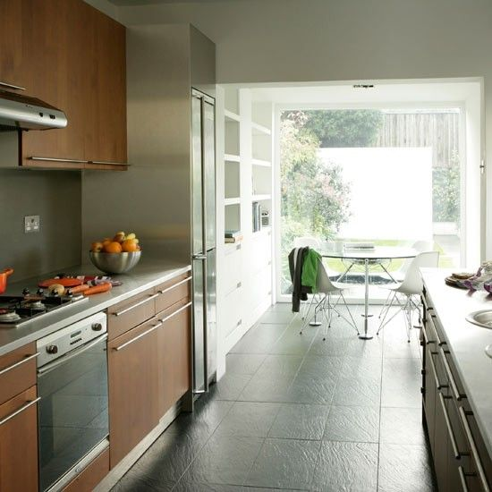 Basement kitchen in existing structure when add to footprint expand to add dining area