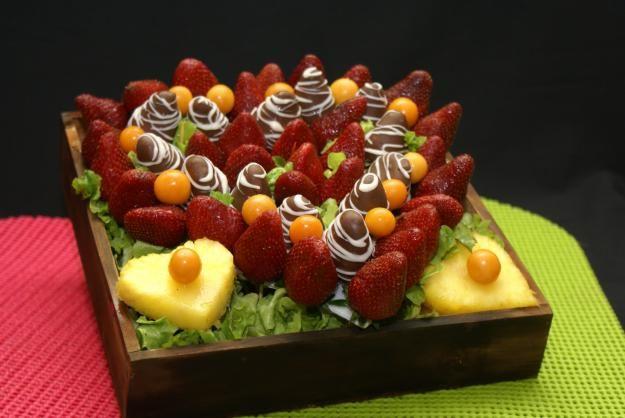 Arreglos de fruta y chocolate :: TODO DE CHOCOLATE