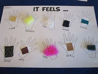 5 senses ~ great for descriptive language and vocabulary too!