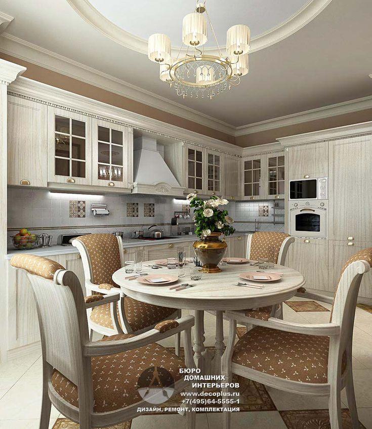 Дизайн кухни, фото интерьеров | Портфолио | Дизайн интерьера квартир, фото ремонта | Бюро домашних интерьеров