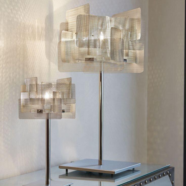 Lámpara de techo moderna de metal - Suspension Cube Grande 28B - Thierry Vidé Design