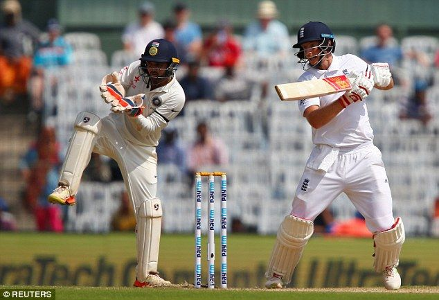 Joe Root scored ten fours en route to his score of 88 in Chidambaram Stadium, Chennai