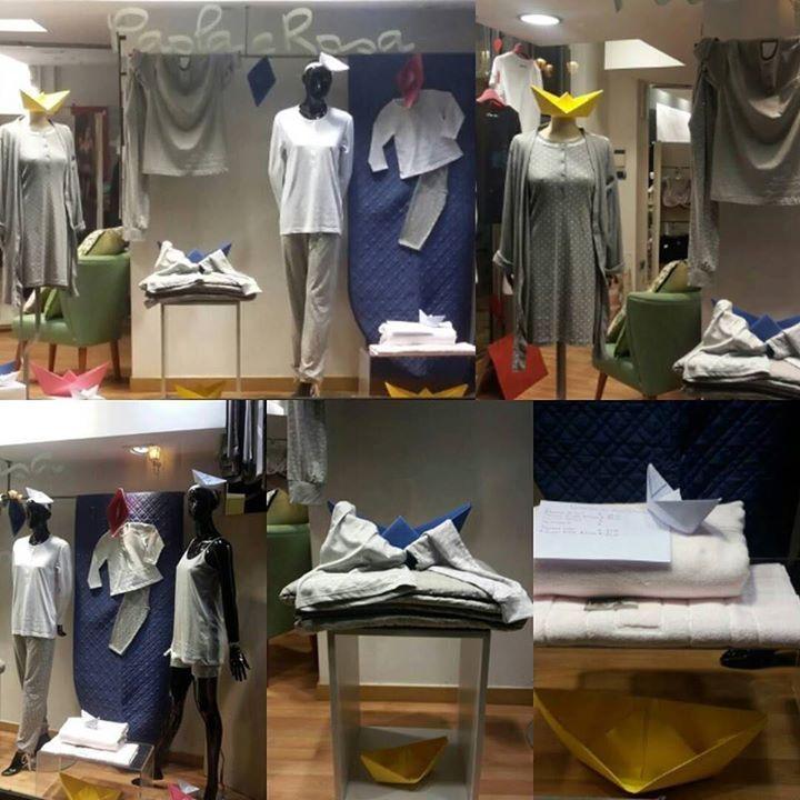 Barchette #newcollection #pigiami #donna #uomo #bambina #bambino #vestituttalafamiglia #happypaolaerosa #happy #like4like #enjoy