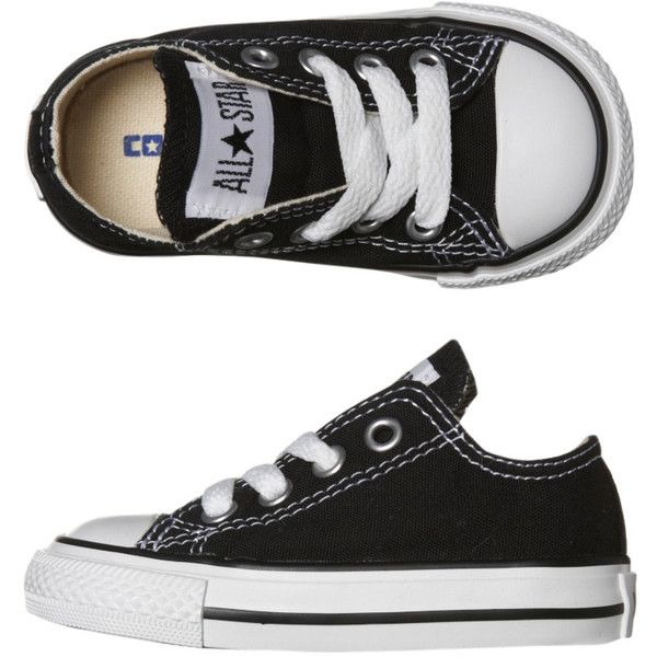 Converse Toddlers boys shoes Converse Tots Chuck Taylor All Star Lo... ❤ liked on Polyvore