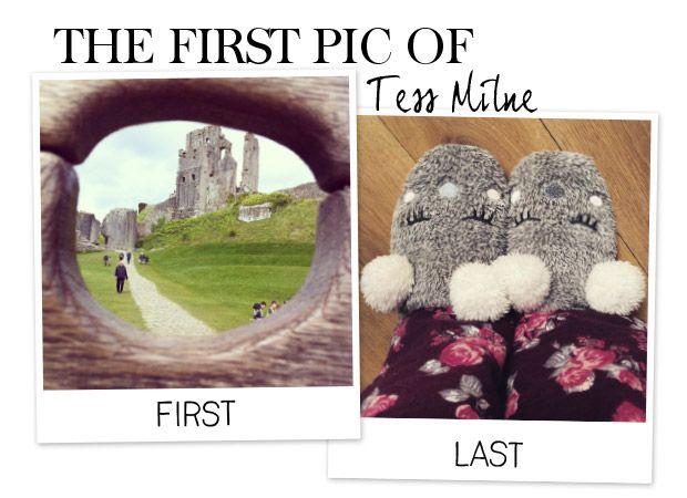 De eerste en de laatste van televisiepresentatrice Tess Milne. Volg jij haar al?