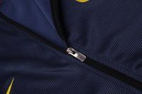 16-17 Cheap Atletico Madrid Dark Blue Football Jacket [H00896]