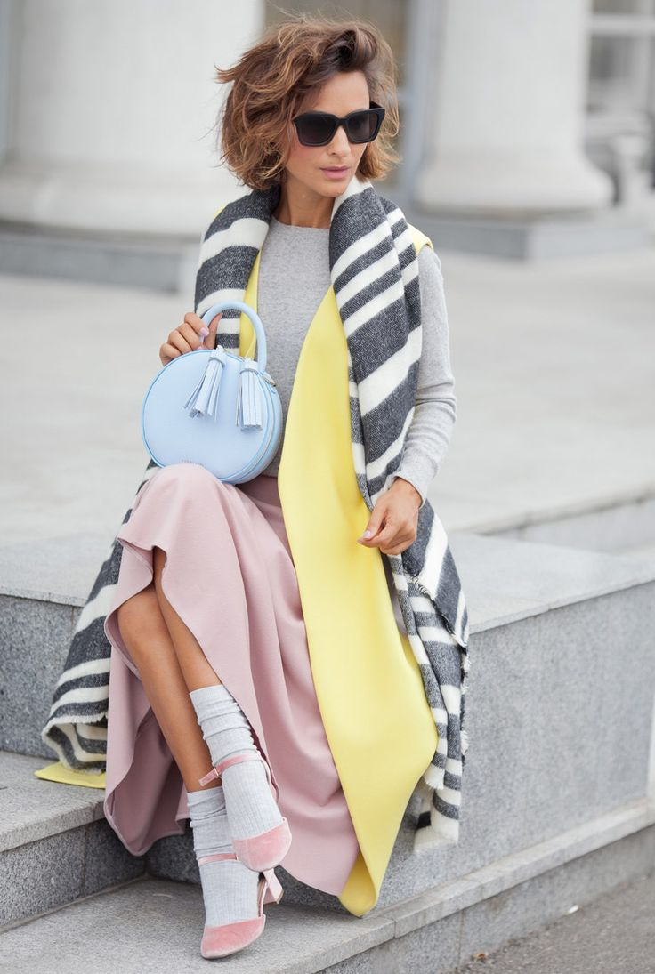 best fall outfits, pastel colors outfits, Ellena Galant Girl,