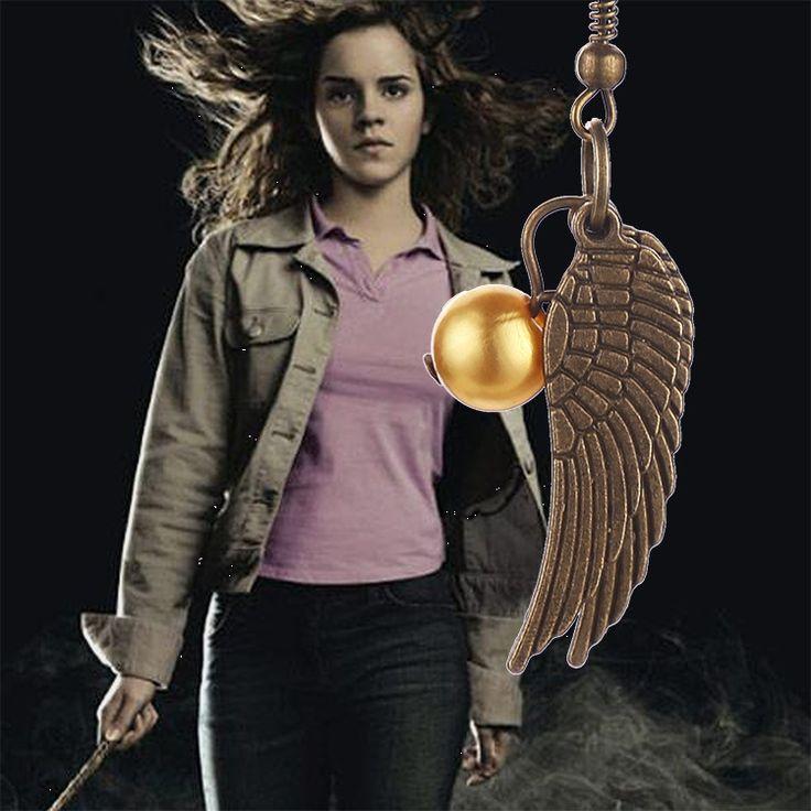 Гарри Поттер, золотой снитч серьги